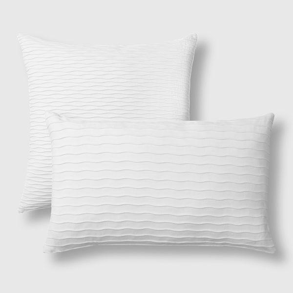 VÄNDEROT แวนเดรอต หมอนอิง, ขาว, 50x50 ซม.