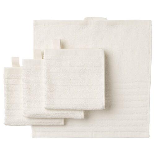วัวเควิน ผ้าขนหนู ขาว 30 ซม. 30 ซม. 0.09 ตรม. 400 ก./ตร.ม 4 ชิ้น