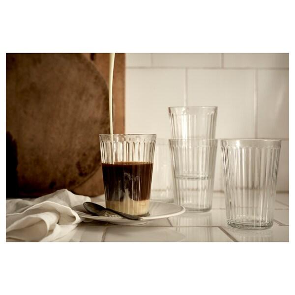 VARDAGEN วาร์ดาเกน แก้วน้ำ, แก้วใส, 43 ซล.