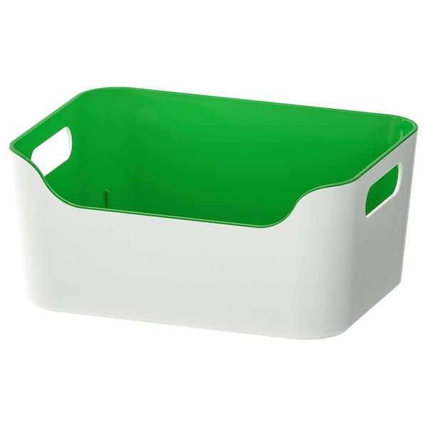 VARIERA วาเรียร่า กล่องพลาสติก, เขียว, 24x17 ซม.
