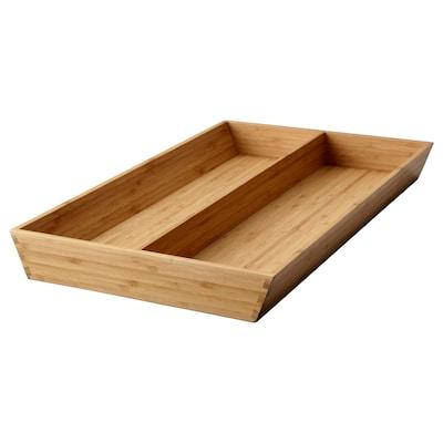 VARIERA วาเรียร่า ถาดเก็บอุปกรณ์ครัว, ไม้ไผ่, 32x50 ซม.