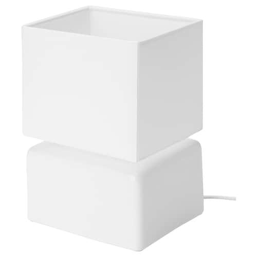 วิสส์เลบู โคมไฟตั้งโต๊ะ เซรามิก ขาว 14 ซม. 20 ซม.