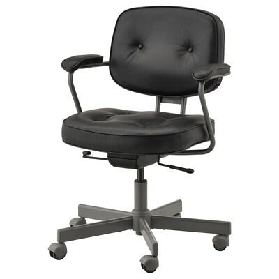 АЛЕФЬЕЛЛЬ офісний стілець ГЛОСЕ чорний 110 кг 64 см 64 см 95 см 51 см 42 см 45 см 56 см