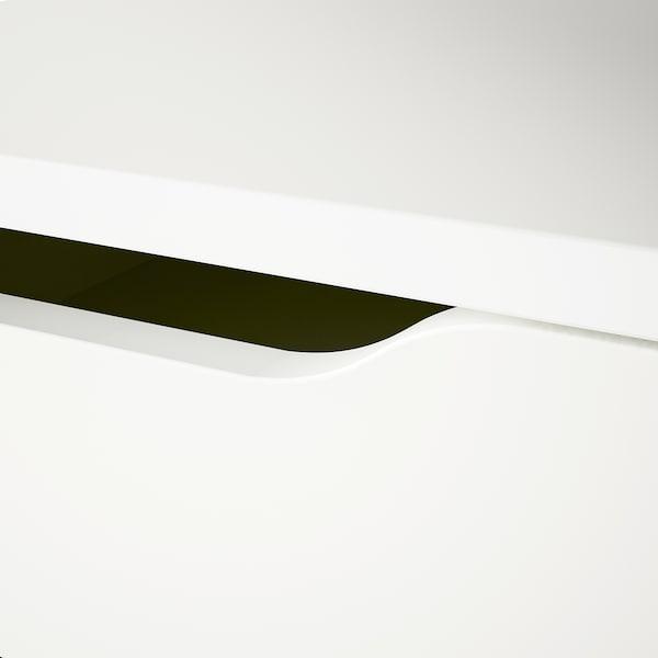 АЛЕКС тумба із шухлядами білий 36 см 58 см 70 см