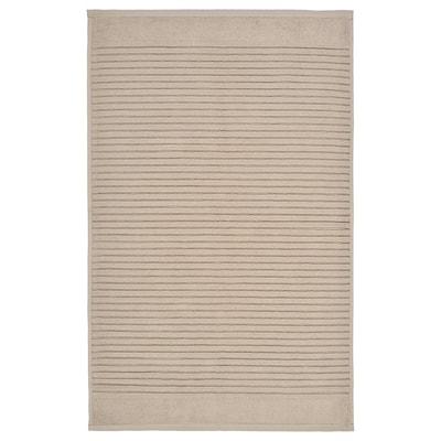 АЛЬСТЕРН килимок для ванної кімнати бежевий 80 см 50 см 0.40 м² 900 г/м²