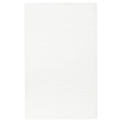 ALSTERN АЛЬСТЕРН Килимок для ванної кімнати, білий, 50x80 см