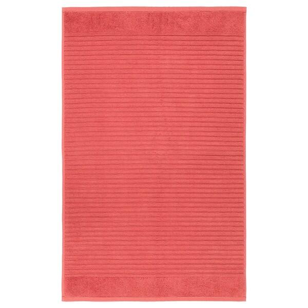 ALSTERN АЛЬСТЕРН Килимок для ванної кімнати, світло-червоний, 50x80 см