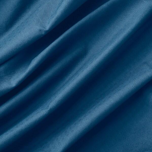 АМІЛЬДЕ штори із зав'язками, 1 пара синій 300 см 145 см 1.55 кг 4.35 м² 2 штук