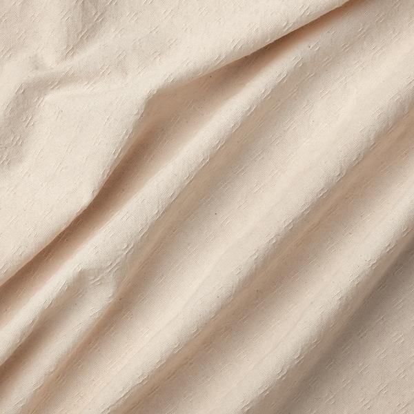 АМІЛЬДЕ штори із зав'язками, 1 пара білий 300 см 145 см 1.55 кг 4.35 м² 2 штук