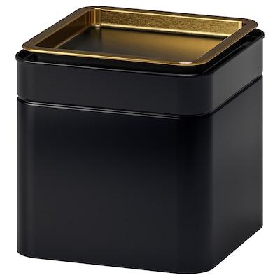 BLOMNING БЛОМНІНГ Жерстяна коробка для кави/чаю, 10x10x10 см