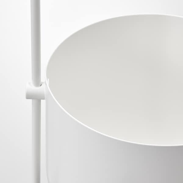 CHILISTRÅN ЧІЛІСТРОН Підвісне кашпо, для приміщення/вулиці білий, 12 см