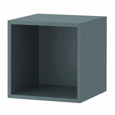 EKET ЕКЕТ Настінний стелаж, сіро-бірюзовий, 35x35x35 см