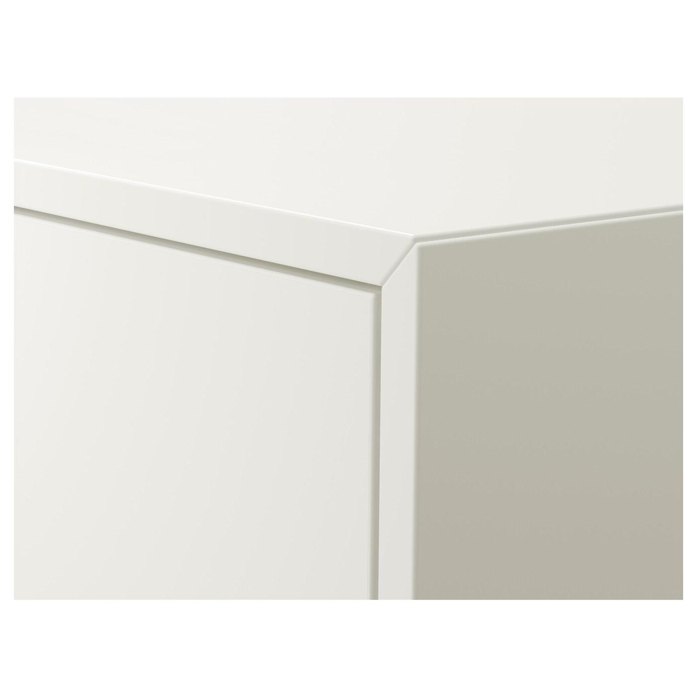 EKET ЕКЕТ Шафа з 2 шухлядами, білий, 35x35x35 см