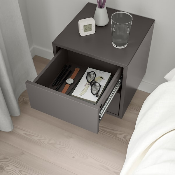 ЕКЕТ навісна шафа з 2 шухлядами темно-сірий 35 см 35 см 35 см 26 см 10 см 1.50 кг