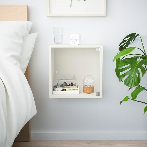 ЕКЕТ шафа навісна зі скляними дверцятами білий 35 см 25 см 35 см