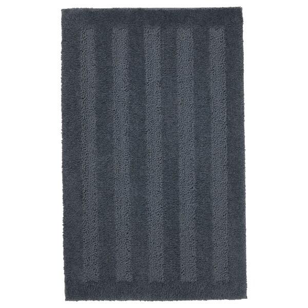 ЕМТЕН килимок для ванної кімнати темно-сірий 80 см 50 см 0.40 м²