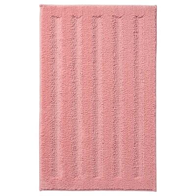 EMTEN ЕМТЕН Килимок для ванної кімнати, світло-рожевий, 50x80 см
