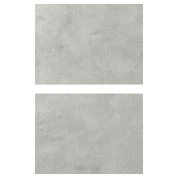 ENHET ЕНХЕТ Фронтальна панель для шухляди, під бетон, 40x30 см