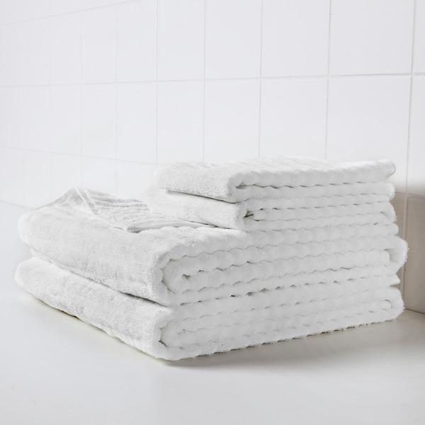 ФЛОДАЛЕН Рушник для рук, білий, 50x100 см