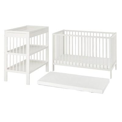 GULLIVER ГУЛЛІВЕР Набір дитячих меблів, 3шт, білий