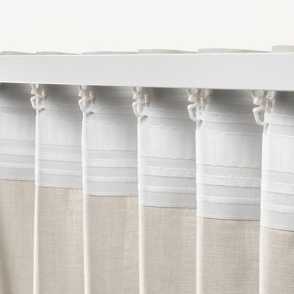 ХАННАЛІЛЛЬ штори, 1 пара бежевий 300 см 145 см 1.20 кг 4.63 м² 2 штук