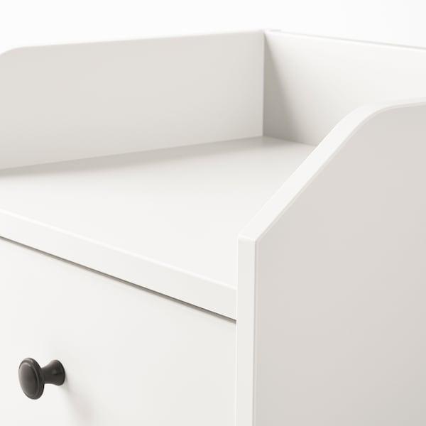 HAUGA ХАУГА Приліжковий столик, білий, 40x36 см