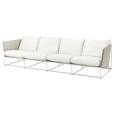 ХАВСТЕН 4-місний диван, кімнатний/вуличний бежевий 341 см 94 см 90 см 62 см 42 см