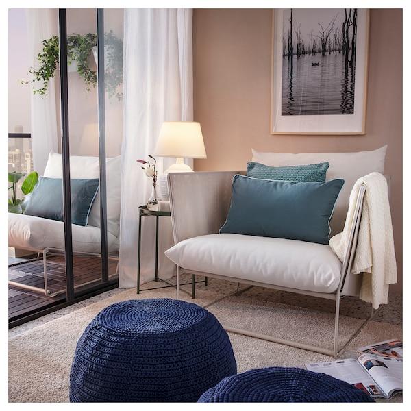 ХАВСТЕН крісло, кімнатне/вуличне бежевий 98 см 94 см 90 см 62 см 42 см