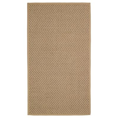 HELLESTED ХЕЛЛЕСТЕД Килим, пласке плетіння, натуральний/коричневий, 80x150 см