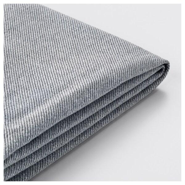 HOLMSUND ХОЛЬМСУНД Чохол для кутового дивана-ліжка, НОРДВАЛЛА класичний сірий