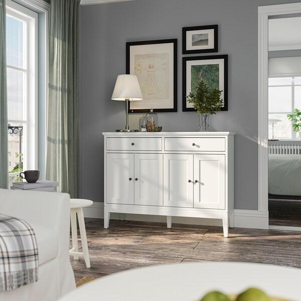 IDANÄS ІДАНЕС Сервант, білий, 124x50x95 см