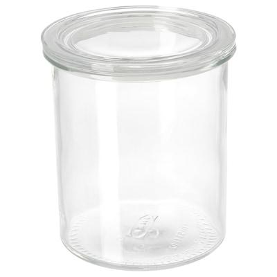 IKEA 365+ Банка із кришкою, скло, 1.7 л