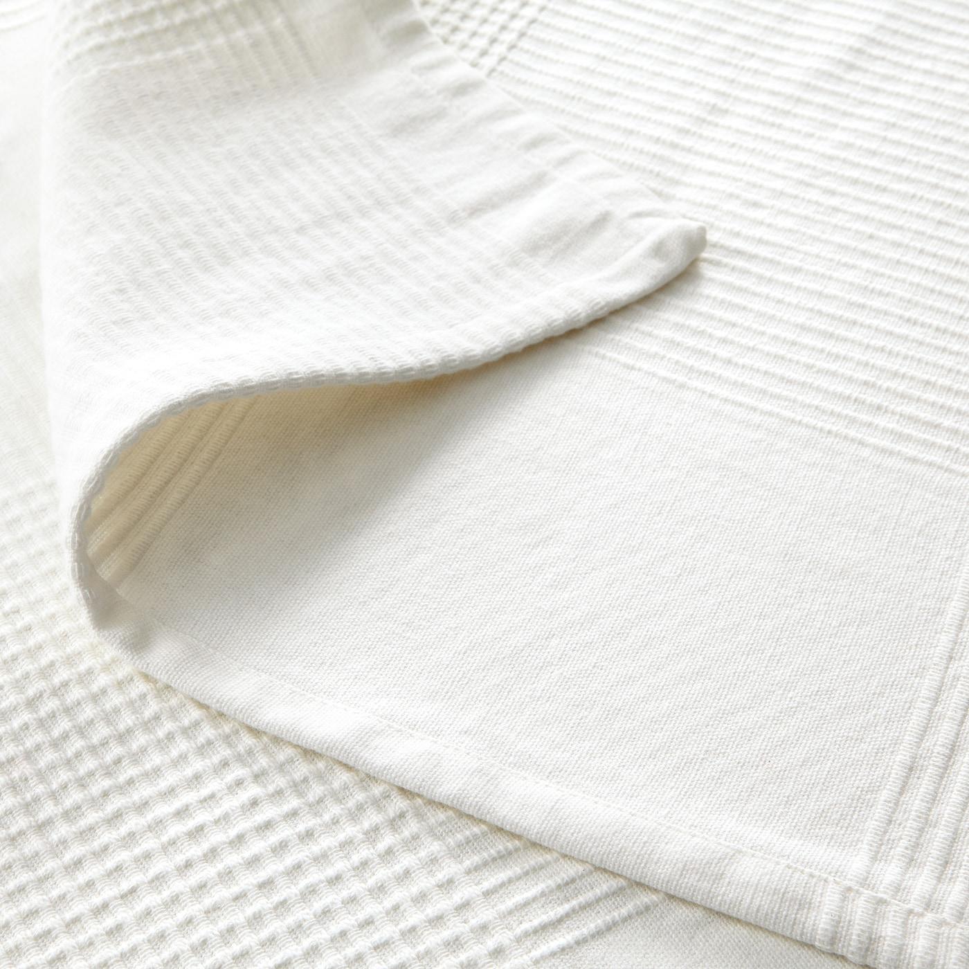 INDIRA ІНДІРА Покривало - білий 230x250 см