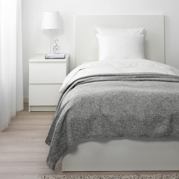 ІНГРУН Плед, сірий, 130x170 см