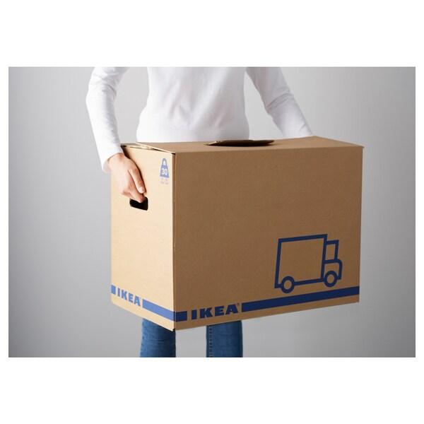 ЄТТЕНЕ пакувальна коробка коричневий 56 см 33 см 41 см 30 кг 62 л 2 штук