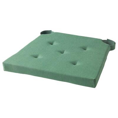 JUSTINA ЮСТІНА подушка для стільця зелений 35 см 42 см 40 см 4.0 см
