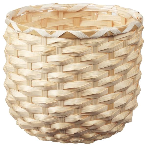 KAFFEBÖNA КАФФЕБЕНА Кашпо, бамбук, 15 см