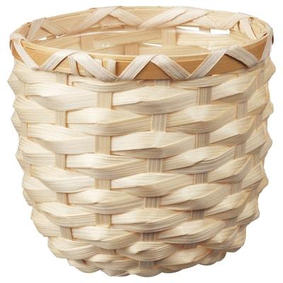 КАФФЕБЕНА кашпо бамбук 11 см 12 см 9 см 11 см