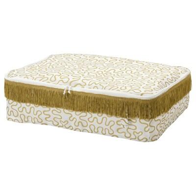 KARISMATISK КАРІСМАТІСК Коробка для зберігання, золотавий, 69x51x19 см