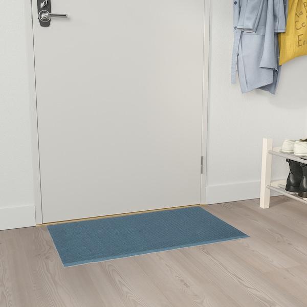 KLAMPENBORG КЛАМПЕНБОРГ Килимок під двері, для приміщення, синій, 50x80 см