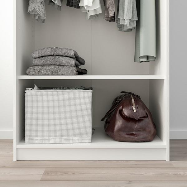 КЛЕППСТАД гардероб із 2 дверцятами білий 79 см 55 см 176 см