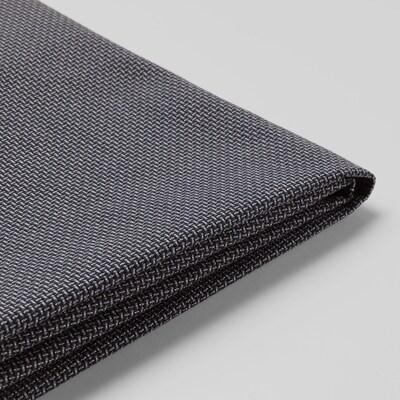 KLIPPAN КЛІППАН Чохол для 2-місного дивана, КАБУСА темно-сірий
