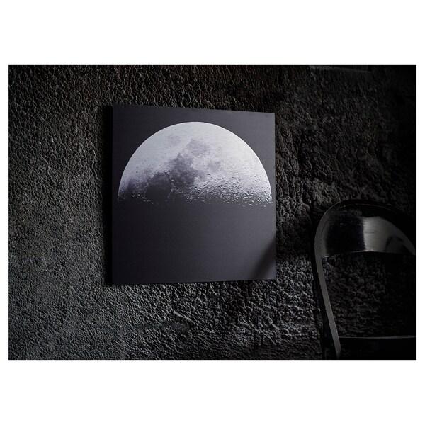 KOPPARFALL КОППАРФАЛЛЬ Картина, Місячний ландшафт, 49x49 см