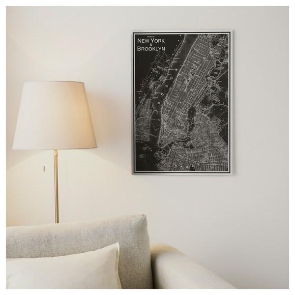KOPPARFALL КОППАРФАЛЛЬ Картина, Нью-Йорк, 49x70 см
