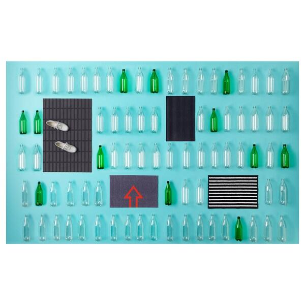 КРІСТРУП килимок під двері темно-синій 55 см 35 см 0.19 м²