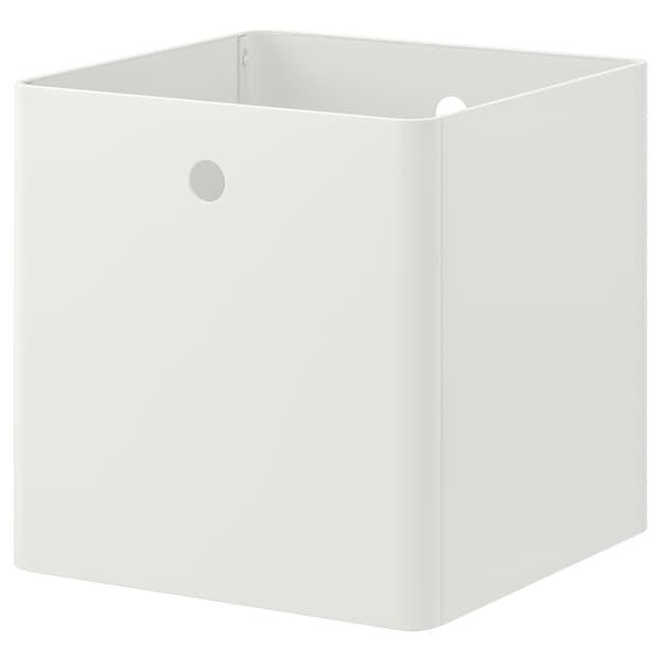 KUGGIS КУГГІС Коробка для зберігання, білий, 30x30x30 см