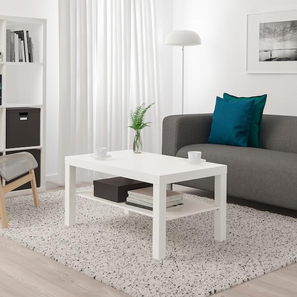 ЛАКК Журнальний столик, білий, 90x55 см