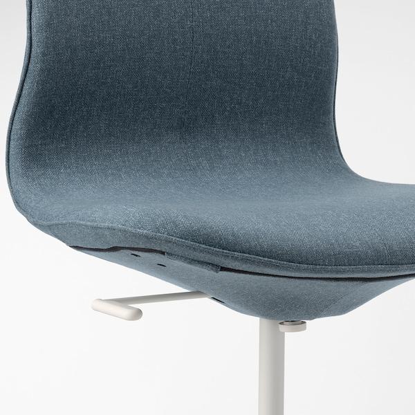 ЛОНГФЬЄЛЛЬ крісло для конференцій ГУННАРЕД синій/білий 110 кг 67 см 67 см 92 см 53 см 41 см 43 см 53 см