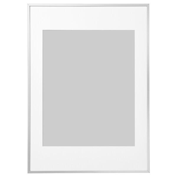 ЛОМВІКЕН рамка алюміній 50 см 70 см 40 см 50 см 39 см 49 см 50.5 см 70.5 см