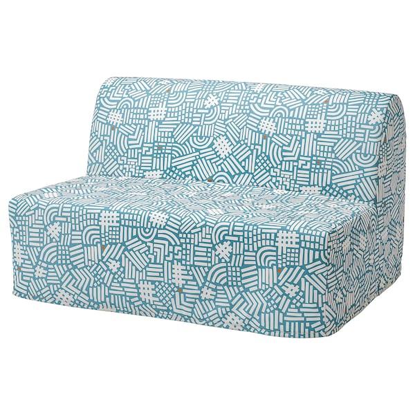 LYCKSELE HÅVET ЛЮККСЕЛЕ ХОВЕТ 2-місний диван-ліжко, ТУТСТАД різнобарвний